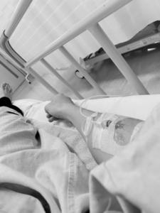 急な入院 突然の入院 点滴
