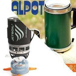 アルポット VS ジェットボイル ALPOT JETBOIL どっち アウトドア 湯沸かし器