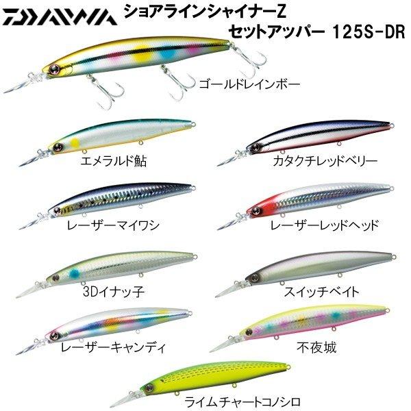 ダイワ ショアラインシャイナーZ セットアッパー125S-DR